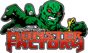 MONSTER FACTORY PRO WRESTLING - logo by TheIronSkull