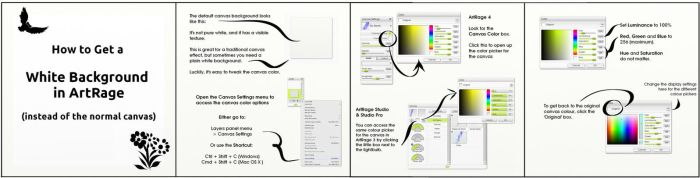 Setting A Perfect White Background in ArtRage by ArtRageTeam