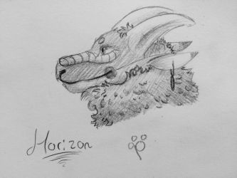 DAY 8: HORIZON FOR DRACONICCARIBOU by talons-and-tails