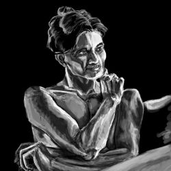 Irene Adler Speedpaint 1-26-2013 by Psycho-Gaze