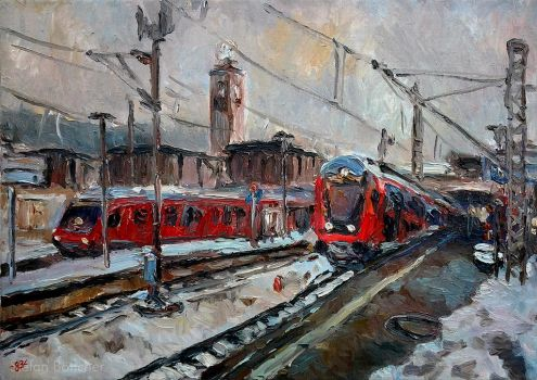 Main Station by Art-deWhill