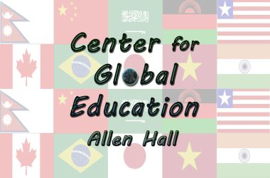 Global Education Logo by bottomofastairwell