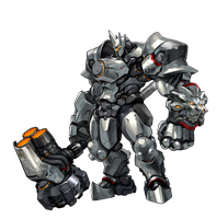 Reinhardt - Overwatch by PlanK-69