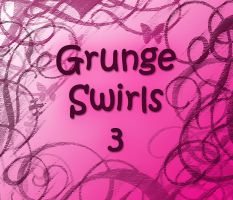 Grunge Swirl Brushes 3 by Lou012