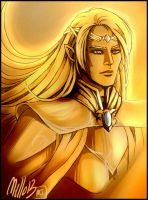 Golden Glorfindel by MellorianJ