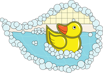 Chaucer the Rubber Duck by vhartley