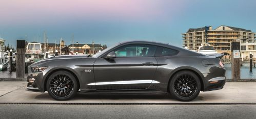 Ford Mustang side by StachRogalski
