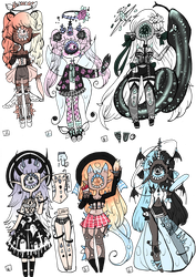 Xynthii Adopts: Barbie-Vibes Collab: 6/6 OPEN by ObsceneBarbie