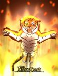 The Jungle Book - Shere Khan and the Fire by imaginativegenius099