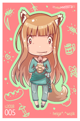 005: Spice and Wolf by WojikHell