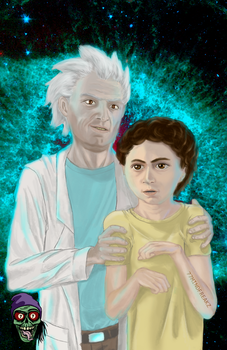 Rick and morty by MlNDFREAKZ