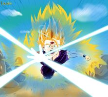 Son Gohan's Fury by Liscobe