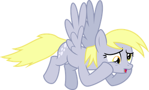 Worried Derpy by masemj