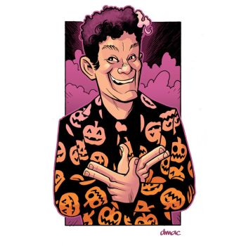 David S. Pumpkins by D-MAC