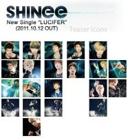 Shinee jap Lucifer teaser icon by e11ie