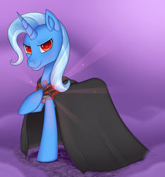 The evil and powerful Trixie by Stalkerpony