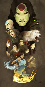 Legend of Korra by einiv