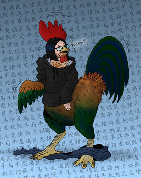 Chinese Zodiac TF - ROOSTER (6/12) by oldiblogg