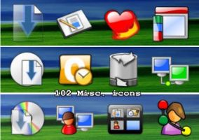 102 more misc icons by zman3