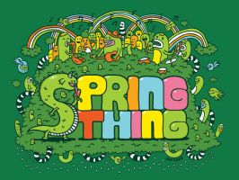 Spring Thing Logo by stingerstyler