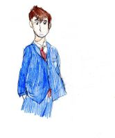 The Tenth Doctor by Nemesis12