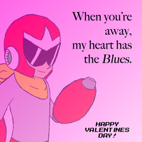 Valentines: Blues by Dillon-the-hedgehog