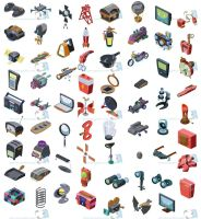 Video Game elements by Trucas