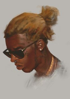 Young Thug by KrasenMaximov