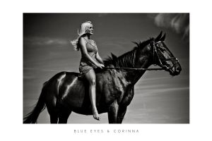Blue Eyes and Corinna II by LiStroeh