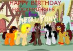 Happy Birthday ERockerTorres by PonyAdler86