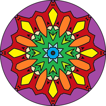 Mandala version2 by MichaFire