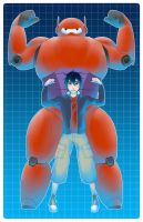 Big Hero 6 by lemonokashi
