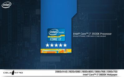 Intel Core i7 3930K Wallpaper 01 by 18cjoj
