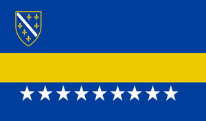 Bosnian Nationalist Flag -Requested- by ColumbianSFR