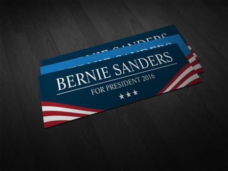 Presidential Election 2016 Bumper Stickers by es32
