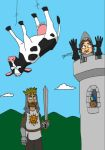 Luke and Sara - Monty Python and the Holy Grail by artbylukeski