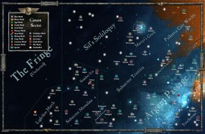 Warhammer 40,000 - The Canaan Sector by colliecool