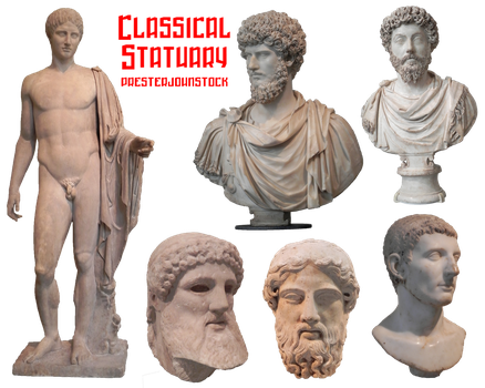 Classical Statuary by presterjohnstock
