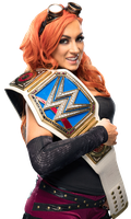 Becky Lynch Smackdown Women's Champion by Nibble-T