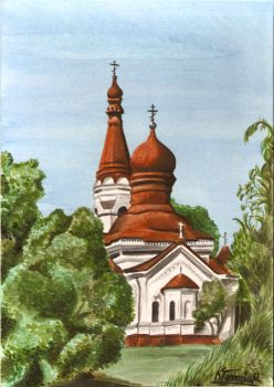 my first water-color :D by Klaudyna