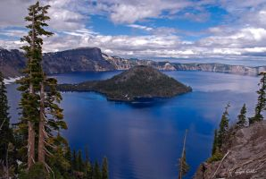 Crater Lake by StephGabler