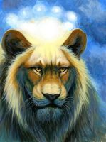 King Lion by hibbary