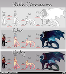 sketch commissions [closed] [donor discount] by Crionym