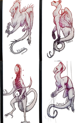 [TWISTED]critters || Set 2 by BendustKas
