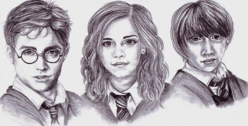 The Trio by LeahRosslyn