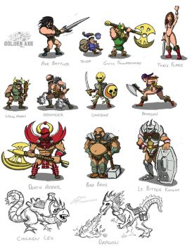 Golden Axe by ShroomArts