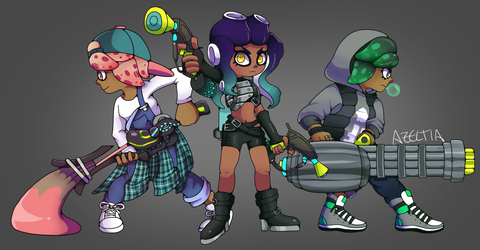 [SPLATOON FC]: Band Together by WingedPPG