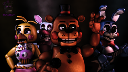 [C4D/FNaF] The Toys by AlyonaPlay
