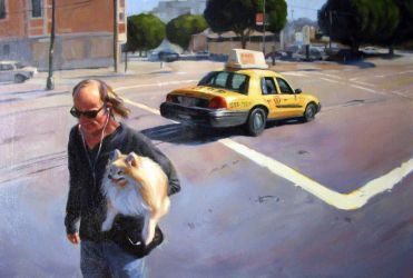 Local Man With Dog by Ausila
