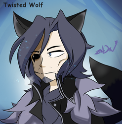 [FNAF] Twisted Wolf. (Humanization by ZoDiacFNAF